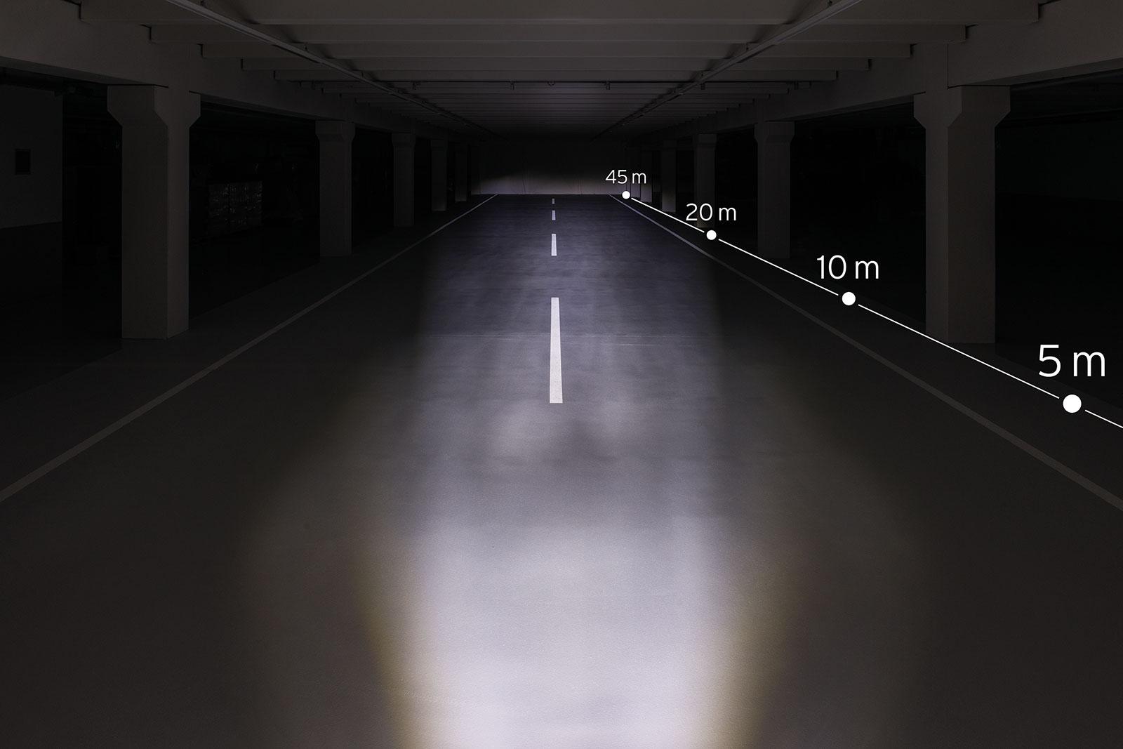 Busch Müller Lumotec Iq2 Eyc N plus LED Dynamoscheinwerfer